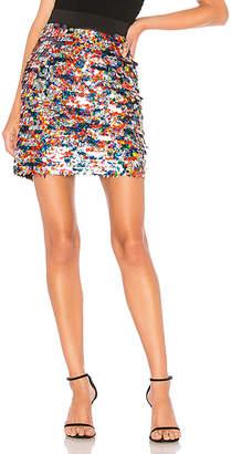 Milly Sequin Modern Mini Skirt