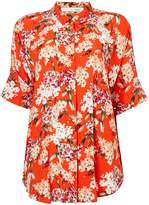 Oui Oversized floral blouse