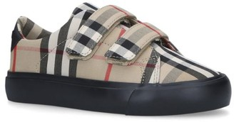 Burberry Kids Vintage Check Markham Sneakers