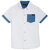 7 For All Mankind Boys' Button Down Shirt - Big Kid