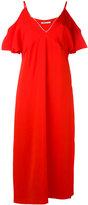 Alexander Wang cold shoulder dress - women - Polyester/Spandex/Elastane/Viscose - 6