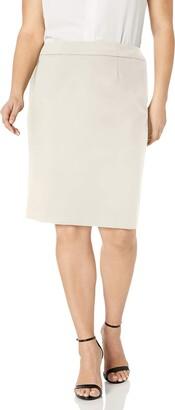 Calvin Klein Women's Plus Size Lux Straight Skirt