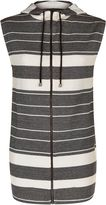 Jaeger Cotton Jersey Stripe Gilet