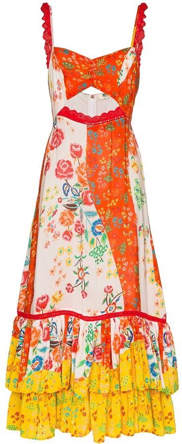 All Things Mochi Alejandra floral print dress