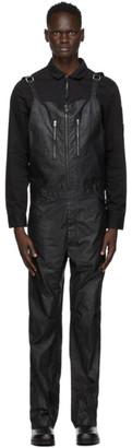 Alyx Black Coated Fuoripista Overalls
