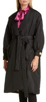 Gucci Belted Silk Taffeta Coat