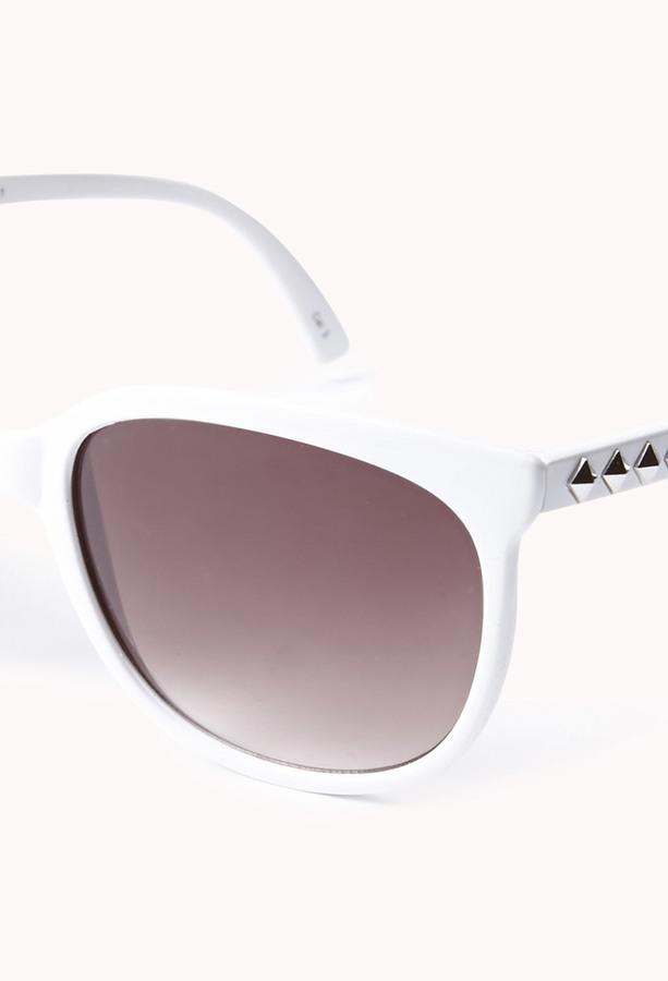 Forever 21 F2941 Studded D-Frame Sunglasses