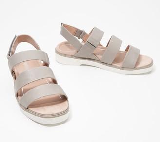 Vionic Leather Adjustable Backstrap Sandals - Keomi
