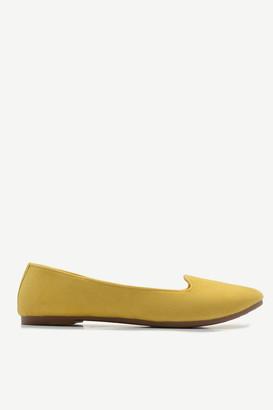 Ardene Basic Faux Suede Flats - Shoes  