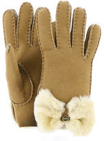 UGG Bow Shearling Glove (Women's)