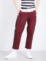 Diesel P-Newton straight-leg high-rise stretch trousers