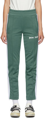 Palm Angels Green Classic Track Pants