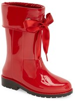 Igor Toddler Girl's 'Campera Charol' Rain Boot