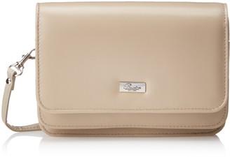 Buxton Women's Double Flap Mini-Bag