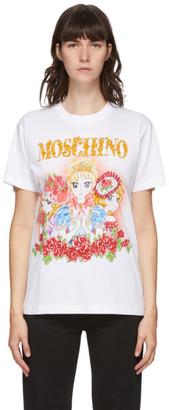 Moschino White Anime T-Shirt
