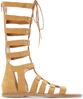 Dune Lahlia suede high-leg gladiator sandals