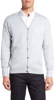 John Smedley Men's 'Bryn' Easy Fit Wool Button Cardigan