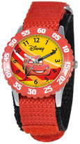Disney Watch, Kid's Lightning McQueen Time Teacher Red Strap 31mm W000084