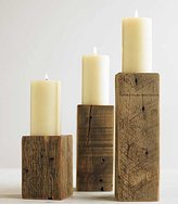 Timber Candleholders