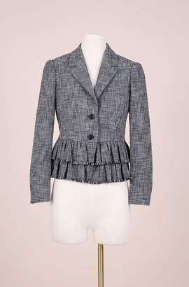 Rebecca Taylor ReCollect Ruffle Suiting Jacket