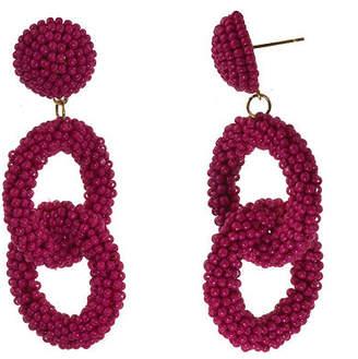 Bijoux Bar Seedbead Drop Earrings