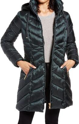 Sam Edelman Walker Hooded Puffer Coat