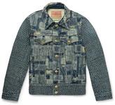 Blackmeans Patchwork Denim Jacket