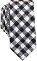 Bar III Men's Hawkins Check Slim Tie, Only at Macy's