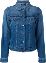 Theory denim jacket - women - Cotton/Polyester - 2