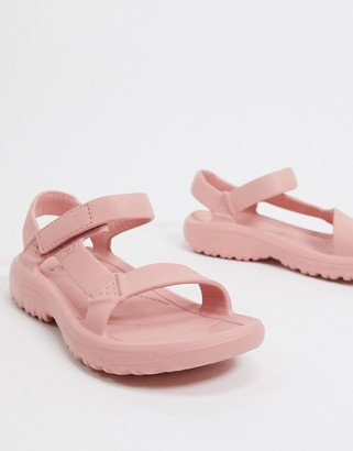 Teva Hurricane Drift sandals in pink