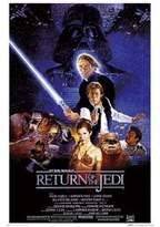 Star Wars Generic Return Of The Jedi Entertainment Poster Print, 27x39