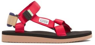Suicoke Depa Cab Technical Sandals - Red