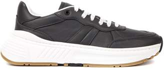Bottega Veneta Speedster Slate Leather Sneakers