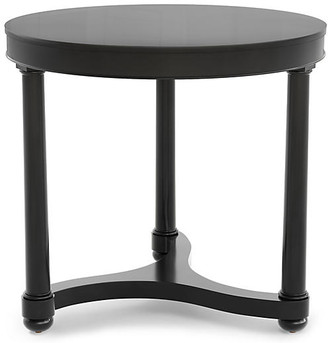 Bunny Williams Home Gwendolen Lacquer Side Table - Black