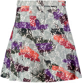 Raoul Paloma cotton-blend jacquard mini skirt