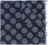Faliero Sarti polka-dot scarf