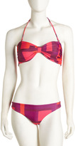 Alice + Olivia Geometric-Print Bikini Bottom
