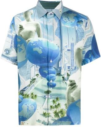 Perks And Mini Planet Print Shirt