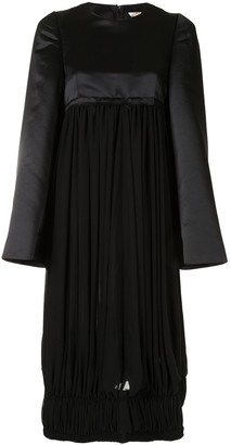 Comme des Garcons Oversized Panelled Midi Dress