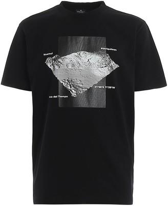 Marcelo Burlon County of Milan Mountain Print T-Shirt