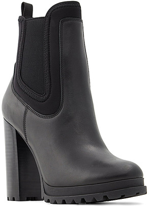 Aldo Women's Casual boots BLACK - Black Elrudien Leather Boot - Women