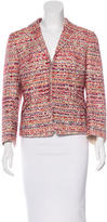 Akris Punto Bouclé Long Sleeve Blazer
