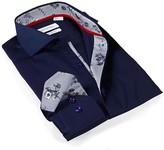 Levinas Solid Slim Fit Dress Shirt