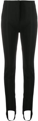 Thierry Mugler high-rise stirrup leggings