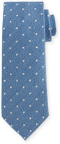 Tom Ford Textured Dot-Print Silk Tie