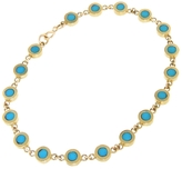 Jennifer Meyer Turquoise Mini Disc Bracelet