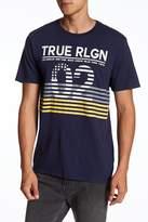 True Religion Inside Flag Graphic Short Sleeve Tee