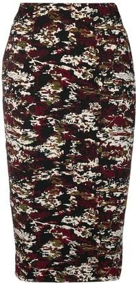 Victoria Beckham jacquard pencil skirt