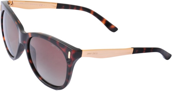 Jimmy Choo Allys Leopard Print Sunglasses
