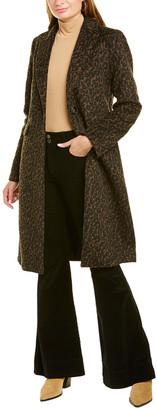 Tahari Raven Medium Wool-Blend Coat